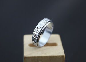 Hot sell Lots 30pcs Stainless steel Rotation Spin Unisex New Design Rings J03