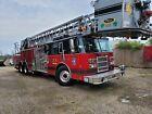 1999 Pierce Dash 100' Ariel Ladder Platform Bucket Fire truck Generator AC