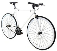 Golden Cycles Fixed Gear Single Speed Bike Bicycle Kilo 41 45 48 52 55 59 CM New