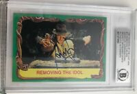 """HARRISON FORD signed 1981 Raiders card auto AUTOGRAPH Beckett BAS """"WITNESS"""" rare"""