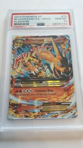 Pokemon 2014 XY Flashfire M Charizard Ex Holo #13 PSA10 Gem Mint
