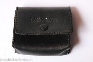 "Minolta Case 1x2.5x3"" - Japan - Snap Closure - VINTAGE D68"