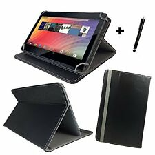 "9,7 ""Custodia Cover Book per Trekstor Surftab Breeze 9,6 QUAD Tablet - 9,7"" nero"