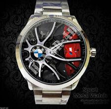 Reloj BMW F30 Car Logo Rims Accesories Logo Merch Sport Metal Watch