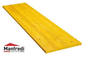 Pannello giallo di abete a tre strati per casseforme mm 27 - carpenteria