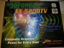 AGP 128gb Nvidia gx 5200TV 3df-fx5200tv jaton