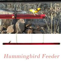 Best Hummingbird Feeder 24/48oz with Hole Birds Feeding Pipes Hot