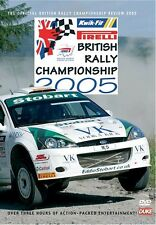 British Rally Championship - Official review 2005 (New DVD) Higgins