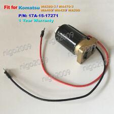 Solenoid Valve 17A-15-17271 for Komatsu WA380-3 WA470-3 WA460 WA420 WA200 WA400