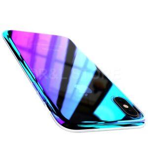 """COVER CUSTODIA per Apple Iphone X RIGIDA ULTRA SOTTILE ORIGINALE """"BLUE RAY"""""""