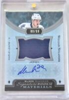 2016-17 BLACK DIAMOND SIGNATURE ROOKIE MATERIALS - WILLIAM NYLANDER 80/99