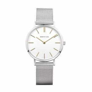 Bering Ladies Watch Wristwatch Classic Quartz - 14134-001 Stainless Steel