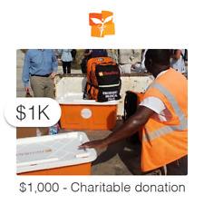 $1000 Charitable Donation For: Medicine Needed - Hurricane Dorian Survivors
