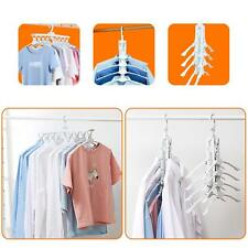 8-in-1 Hangers,Magic Folding Clothes Rack,8 Pieces Conjoined Clothes Hangers