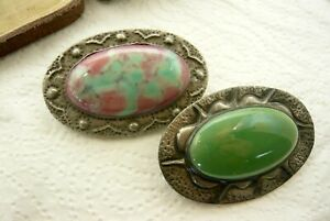 VINTAGE JEWELLERY ARTS AND CRAFTS RUSKIN DESIGN BROOCHES/PINS
