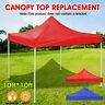 10x10ft Gazebo Top Cover Canopy Roof Sunshade Garden Patio Waterproof Protector