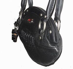 NEW Red24 Black FOOTBALL PURSE Slimline Hand Bag+Whistle NFL Raiders Ravens Hawk