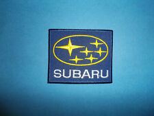 `SUBARU MOTORSPORT`SEW OR IRON ON PATCH