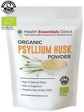 Organic Psyllium Husk Powder (IBS, Natural Fibre, Reduce Appetite) Choose Size: