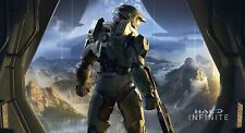 Halo Infinite 20x37 Vinyl Poster + 3 Free 13x19 Gloss Posters Halo Pack