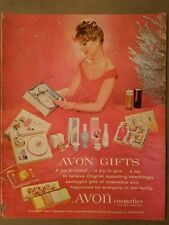 1959 Avon gifts cosmetics soap perfume joy to select give receive ad