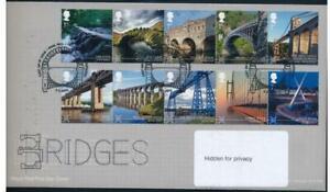 GB 2015 Bridges FDC