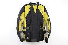 Akito Python Motorcycle jacket Yellow Med