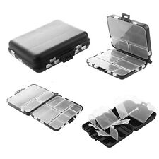 Plastic Waterproof Fishing Tool Bait Tackle Storage Box Case w/ 26 Compartments