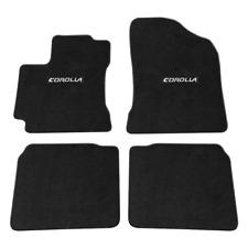 Fit For 2014-2018 Toyota Corolla Black Nylon Floor Mats Carpets w/ Corolla