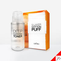 VANAV Deep Cleansing Toner -200ml & Cotton PUFF-40ea for Vanav Device [OFFICIAL]