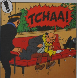 Herge (By) - Tintin Flight 714 for Sydney - 3 Lithographs Ex Libris #2011