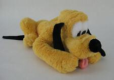 Disney Pluto Dog Plush Stuffed Toy Green Collar Soft