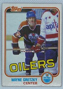 1981-82 Topps #16 Wayne Gretzky