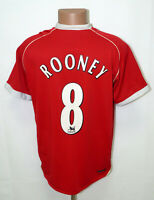 MANCHESTER UNITED 2006/2007 HOME FOOTBALL SHIRT NIKE ROONEY #8 SIZE L ADULT