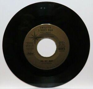 PEE WEE HUNT TWELFTH STREET RAG/OH! (NM) 6001 45 RECORD