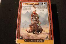Games Workshop Warhammer Savage Orc Great Shaman on Warboar BNIB New Finecast GW