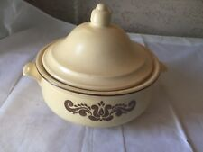 Vintage Pfaltzgraff Village Stoneware 10 Inch Soup Tureen casserole With Lid