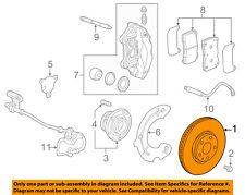 Chevrolet GM OEM 14-15 Corvette Front Brake-Disc Rotor 23439965
