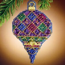 Diamond Holiday Bead Ornament Kit Mill Hill 2011 Christmas Jewels