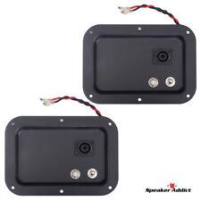 2 - 5x7 Steel Pro Audio Speaker Jack Plate, 2- 1/4
