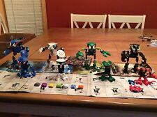 LEGO Bionicle Bohrok Figure Lot Of (4) Sets 8561 8562 8564 8565 W/ Books
