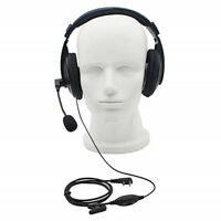 2Pin Noise canceling Headset Headphone with PTT Mic for Baofeng
