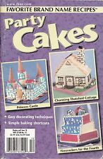 PARTY CAKES FAVORITE BRAND NAME RECIPES COOKBOOK MAY, 2002 VOL 7 #12 TURKEY CAKE
