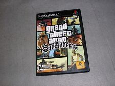 Grand Theft Auto GTA San Andreas for Playstation 2 PS2 TESTED & WORKING Game