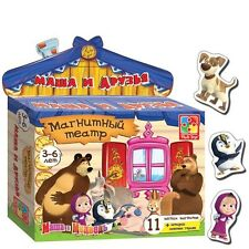 +++Masha and the Bear Magnet Theater/Маша и Медведь Магнитный Театр