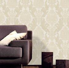 Moda Black Label Cream Wallpaper