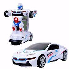 Transformer Auto Rennauto Roboter Elektronisches Spielzeug Licht Musik Autobots