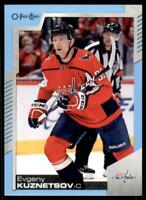 2020-21 UD O-Pee-Chee Blue Border #130 Evgeny Kuznetsov - Washington Capitals