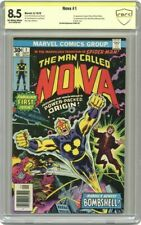 Nova #1 CBCS 8.5 Signed by Stan Lee (like CGC SS Signature Series )