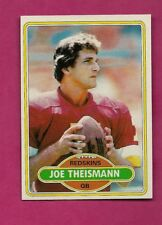 1980 TOPPS # 475 REDSKINS JOE THEISMANN  NRMT CARD (INV# A6257)